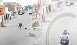 Imágenes impactantes: Sicarios tiñen nuevamente de sangre las calles del Callao