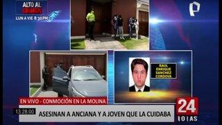 Doble asesinato en La Molina: hombre mata a su abuela y a la mujer que la cuidaba
