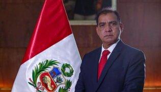 Ministro Luis Barranzuela renunció a la defensa de Vladimir Cerrón, Guido Bellido y Perú Libre