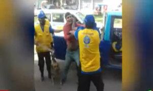 Comas: violentos enfrentamientos entre mototaxistas y fiscalizadores