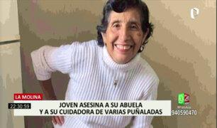 La Molina: sujeto que asesinó a su abuela y cuidadora fue llevado a la Dirincri