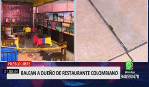 Pueblo Libre: balean a dueño de restaurante colombiano
