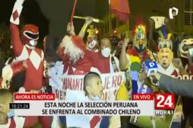 'Clásico del Pacífico': hinchas alentaron a la selección en las afueras del Estadio Nacional
