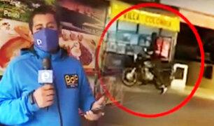 Pueblo Libre: Disparan a dueño de restaurante por una cadena de oro
