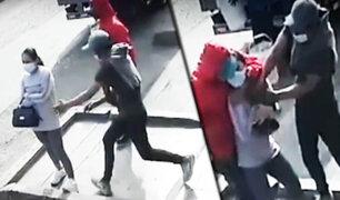 ¡Salvaje ataque!: Cogotean a joven mujer para robarle en SMP