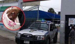 Chimbote: Abandonan a recién nacida en un descampado