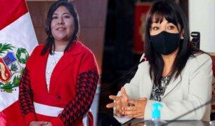 "Betssy Chávez sobre Mirtha Vásquez: ""Como premier permitirá generar consensos"""