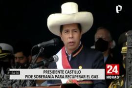 Presidente Pedro Castillo presidió ceremonia por el Día de la Marina