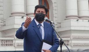 """Vocero de PL sobre Constitución: """"No se puede hablar de cambios mientras no se haya abordado el tema"""""""
