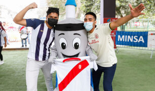 Clásico del Vacunafest: este sábado 9 y domingo 10 podrás inmunizarte en estadios de Alianza y la U