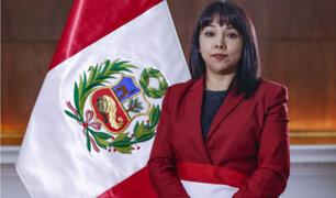 Premier Mirtha Vásquez: La Asamblea Constituyente no es una prioridad del Gobierno