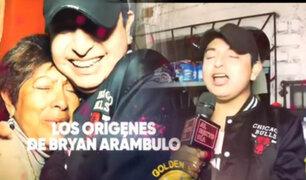 Bryan Arámbulo: Conozca los humildes orígenes del nuevo divo de la Cumbia