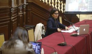 Comisión de Constitución aprobó por insistencia autógrafa de ley sobre cuestión de confianza