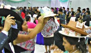 Huancayo: intervienen a recién casados y a sus 300 invitados en plena celebración de la boda