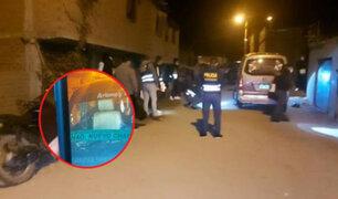 Sicarios asesinan de cuatro balazos a chofer de colectivo en La Libertad