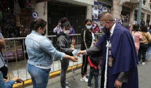 Implementa punto de vacunación contra la COVID-19 cerca de la iglesia Las Nazarenas