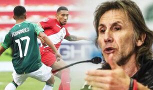 """Ricardo Gareca sobre la derrota ante Bolivia: """"Por un detalle se perdió el partido"""""""