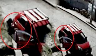 Abandonan a una persona en aparente estado de ebriedad de un vehículo en Cusco