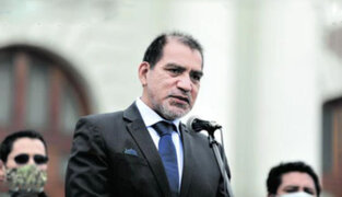 Congreso: Citan nuevamente al ministro del Interior Luis Barranzuela