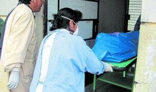 Huancayo: sujeto completamente ebrio se queda dormido en plena calle  y muere congelado