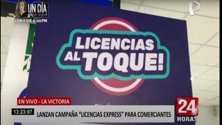 """La Victoria: municipalidad lanza campaña de """"licencias express"""" para formalizar cormerciantes"""