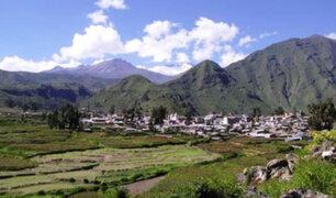 Sismos en Arequipa: 145 viviendas precarias quedaron afectadas en valle del Colca