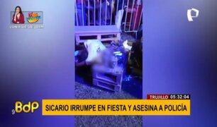 Terror en Trujillo: sicario irrumpe fiesta y asesina a balazos a policía