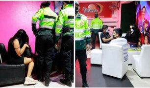 SJL: intervienen 17 prostíbulos clandestinos que funcionaban bajo la fachada de restaurantes