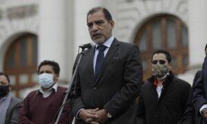 Luis Barranzuela niega vínculos entre su nombramiento como ministro del Interior y Vladimir Cerrón
