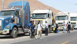 Gremio de transporte interprovincial y de carga anuncia huelga a partir del 26 de octubre
