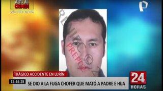 Lurín: conductor de combi en estado de ebriedad mata a padre e hija y se da a la fuga