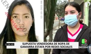 Denuncian a vendedora de ropa por estafa en redes sociales