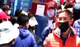 Huancayo: Continúan protestas tras suspensión de exámenes para obtener brevetes