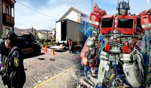 Lluvias retrasan agenda: 'Transformers' continuará grabaciones hasta el 19 de octubre en Cusco