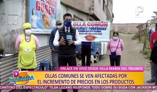 VMT: piden ayuda para abastecer olla común tras incremento de precios en productos
