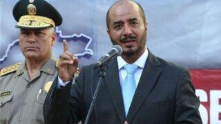 Pérez Guadalupe: Barranzuela no cumple con los requisitos para ser ministro del Interior