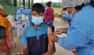 """OPS tras anuncio de vacunación a menores de 12 a 17 años en Perú: """"No es prioritaria"""""""