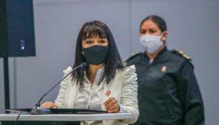 """Mirtha Vásquez sobre Luis Barranzuela: """"Estamos pidiendo los descargos y en base a eso se hará una evaluación"""""""