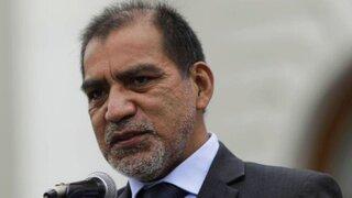 Ministro Barranzuela es investigado por presunto crimen organizado, lavado de activos y peculado doloso