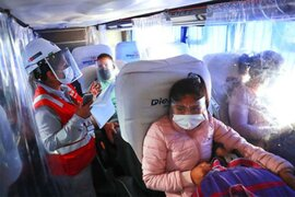 Minsa: Mayores de 45 años deberán tener las dos dosis de la vacuna para realizar viajes interprovinciales
