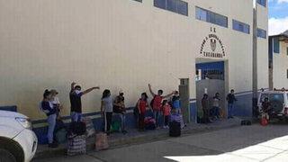 ¡EXCLUSIVO! Cajamarca: alumnos no pueden regresar a clases por pésimo estado de su colegio