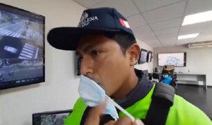 Magdalena: infractor que estacionó mal su vehículo insultó y golpeó a fiscalizador