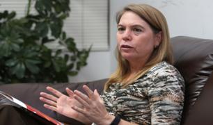 """Elena Conterno: """"Hay que tener a personas capacitadas en los cargos públicos"""""""