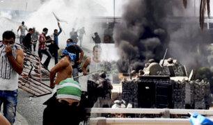 Tres muertos y una veintena de heridos deja tiroteo durante protesta en Beirut