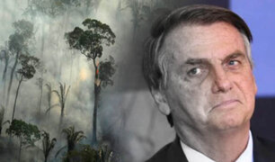Jair Bolsonaro es demandado por deforestación de la Amazonía