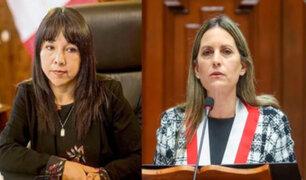 Voto de confianza: premier Mirtha Vásquez se reúne con presidenta del Congreso