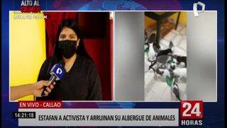 Callao: estafan a activista y dejan a su albergue en la bancarrota