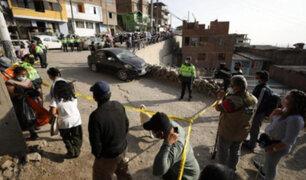 Rímac: asesinan de siete balazos a colectivero dentro de su automóvil