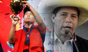 Balloon World Cup: Castillo saludó a peruano campeón en Twitter