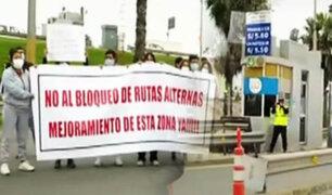Chorrillos: Vecinos reclaman que todos los días pagan peaje para ingresar y salir de su zona